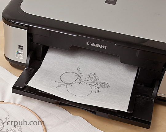 How To Use Wash Away Stitch Stabilizer Ct Publishing