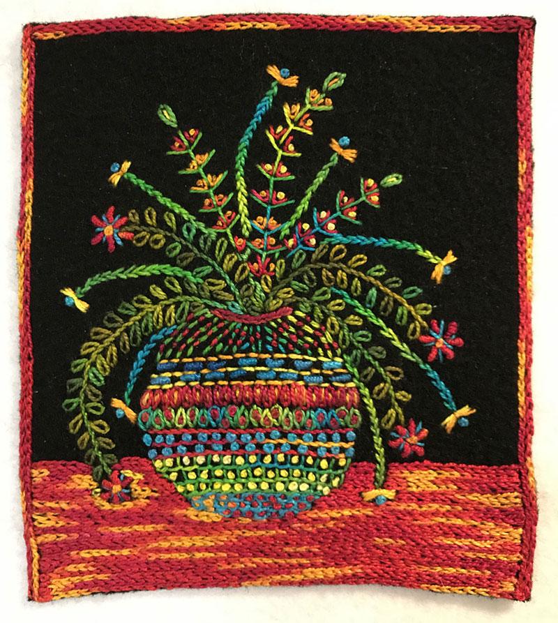 Flower Vase Stitch Along C Amp T Publishing